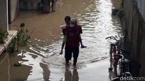 Bojonegoro Siaga Kuning, Air Bengawan Solo Meluber ke Pemukiman