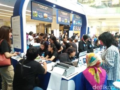 Singapore Airlines-BCA Travel Fair 2018 Dibuka, Pengunjung Antre dari Semalam