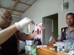 Tim DVI Ambil Sampel Darah Keluarga Korban Longsor di Brebes