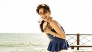 Foto: Liburan Ala Model Fitness Seksi dari Jepang
