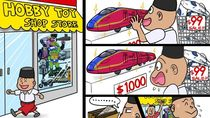 Sederet Karya Komikus Jepang yang Sindir Jokowi