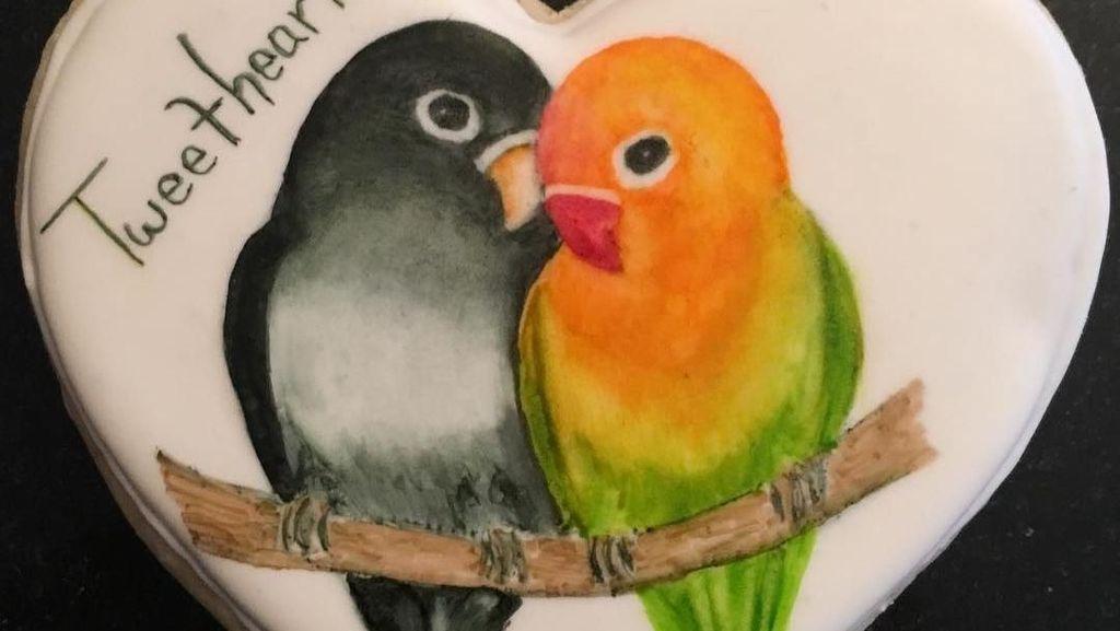 Keren! Kreasi Kue Kering Bergambar Hewan Ini Seperti Lukisan di Buku Gambar