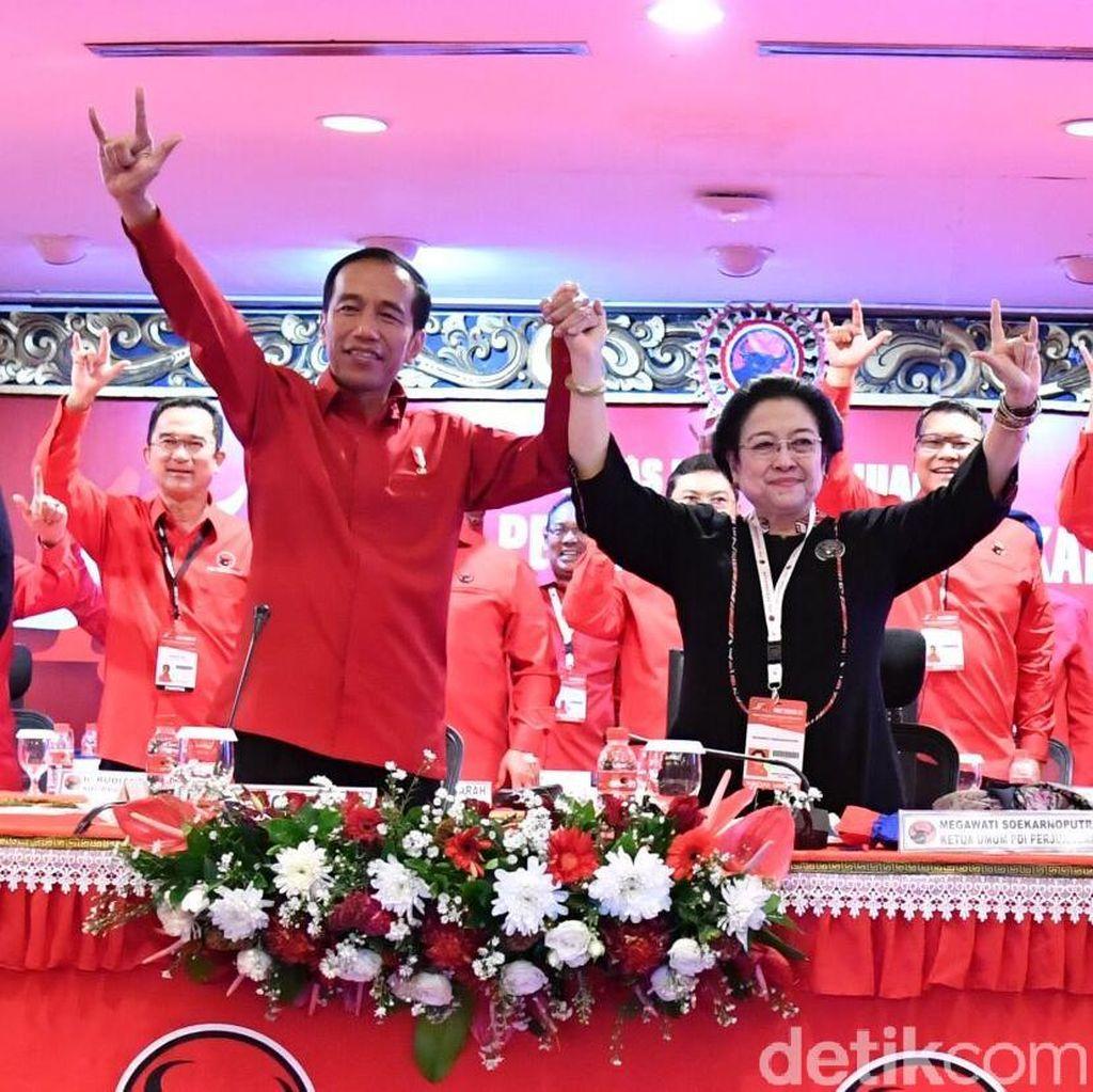 Megawati Bakal Restui Duet Jokowi-Prabowo?