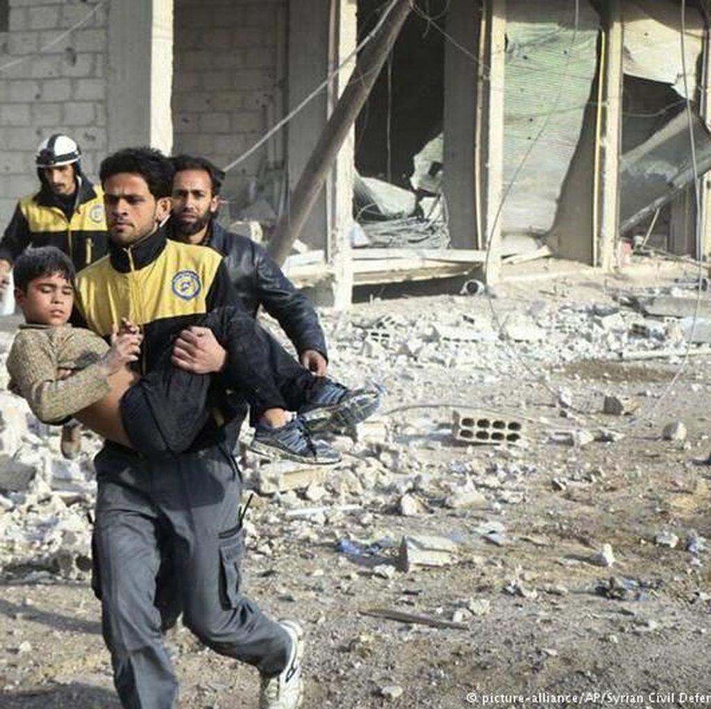 Rusia Gagalkan Resolusi DK PBB Soal Bencana Kemanusiaan di Suriah