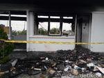 Ini Kondisi Pos Satpam PT RUM di Sukoharjo Usai Dibakar Massa
