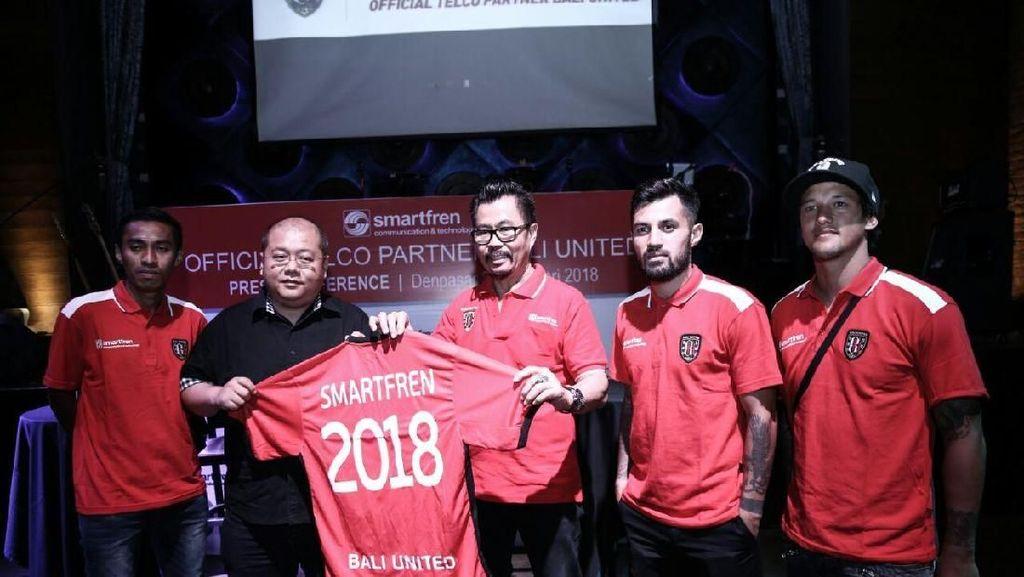 Bali United Kedatangan Sponsor Baru