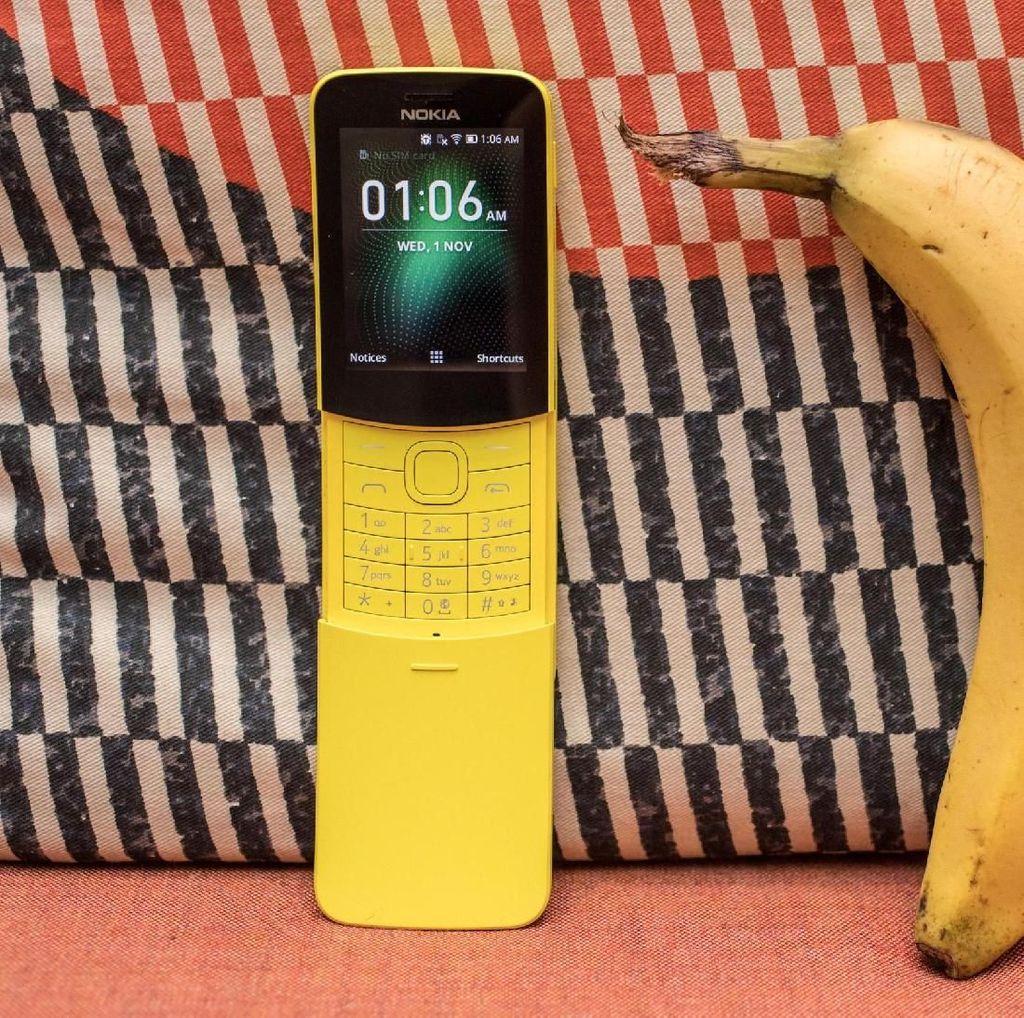 Ini Dia Ponsel Pisang Nokia 8110 Reborn