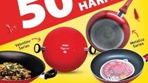 Hanya Hari Ini! Wajan Maxim Diskon 50% di Transmart Carrefour