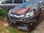 Penampakan Mobil yang Seruduk Bocah 7 Tahun hingga Tewas