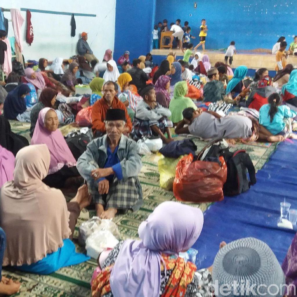 Begini Kondisi Pengungsian Akibat Tanah Retak di Banjarnegara