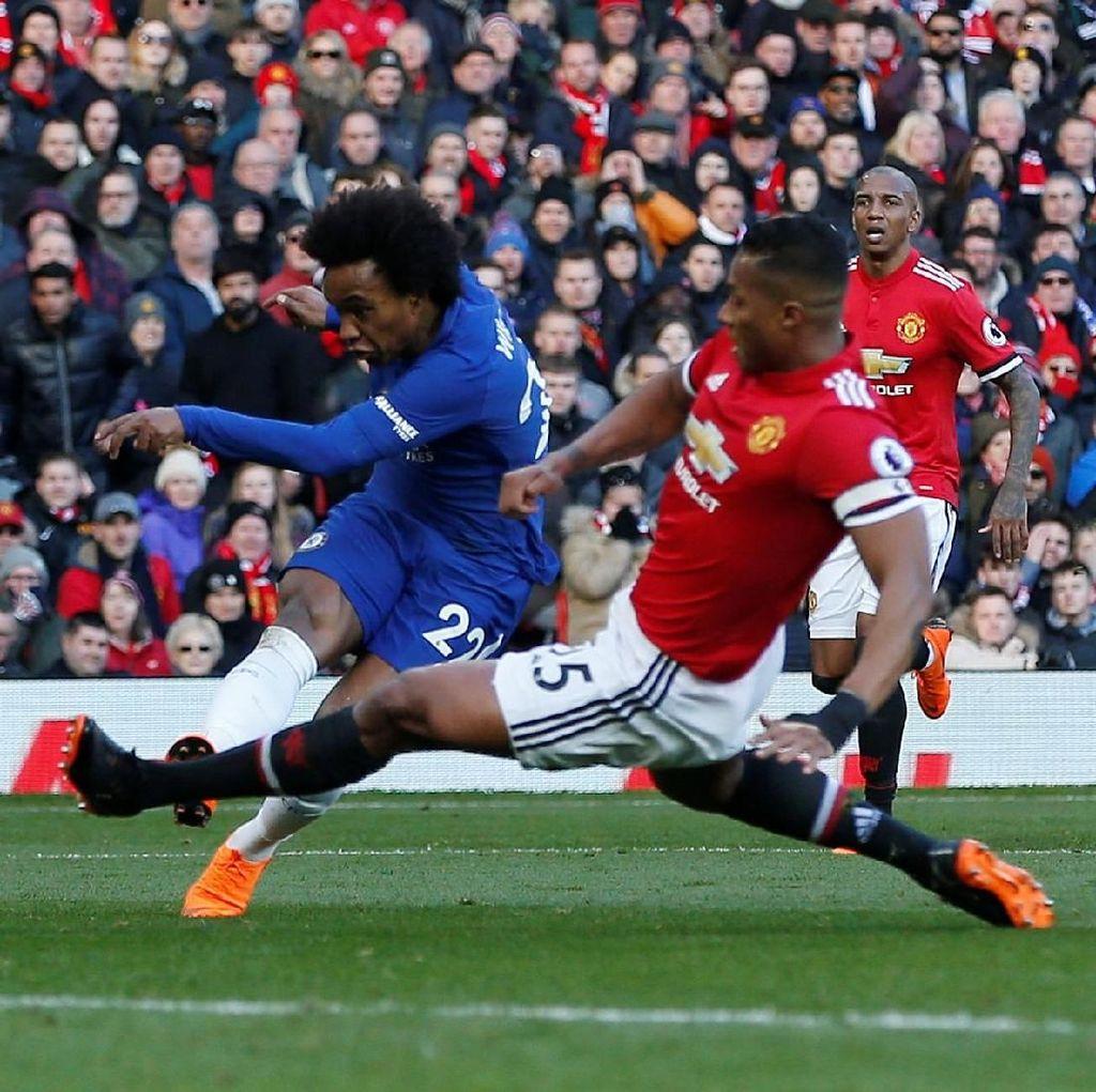 MU vs Chelsea Imbang 1-1 di Babak Pertama