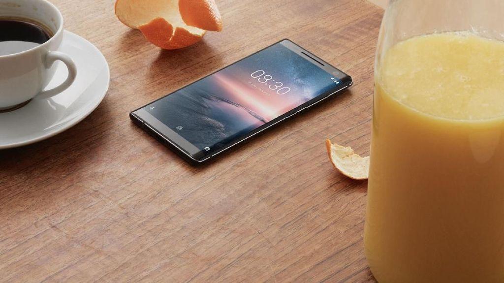 Nokia 8 Sirocco, Ponsel Android One Rp 12 Juta