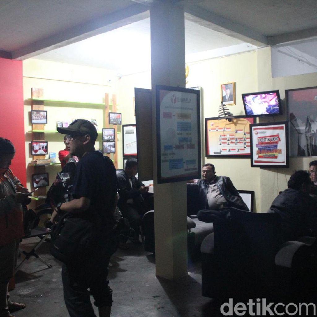 Begini Detik-detik saat Ketua Panwaslu Garut Diamankan Polisi