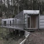 Keren, Rumah di Lereng Bukit Terbuat dari Kontainer