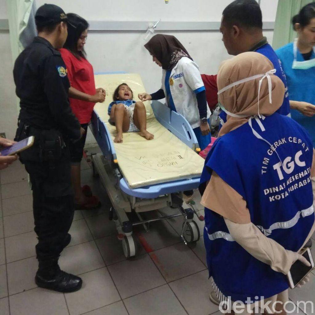 Jari Seorang Bocah 3 Tahun Terluka Akibat Terjepit Tangga Berjalan