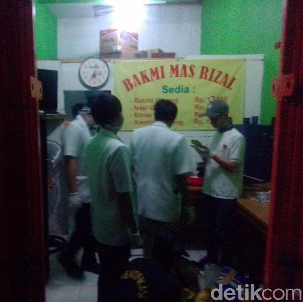 Kondisi Penjual Bakmi yang tewas di Cipayung, Leher Nyaris Putus