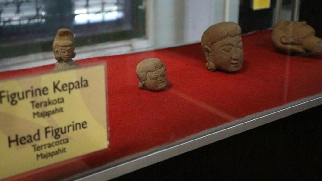 Foto: Keramik-keramik Peninggalan Majapahit