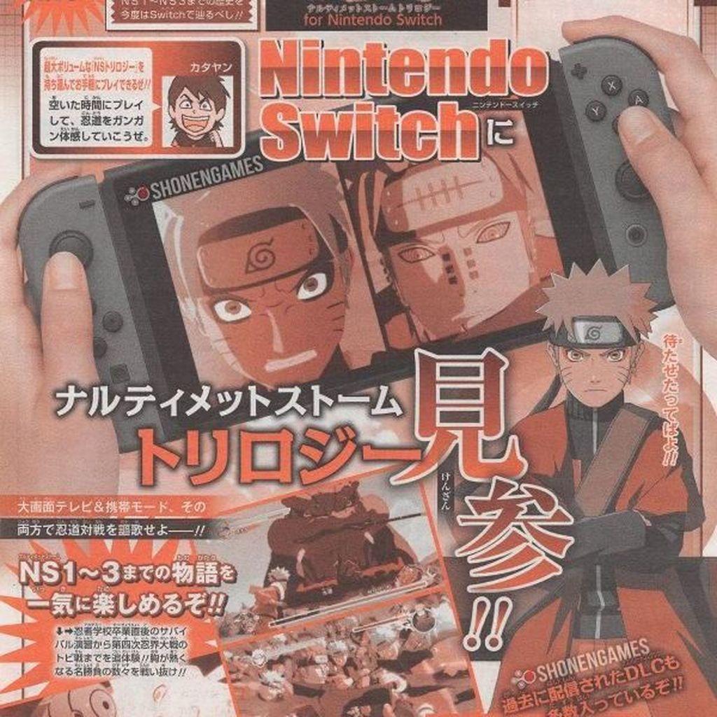 Trilogi Naruto Shippuden Siap Sambangi Nintendo Switch