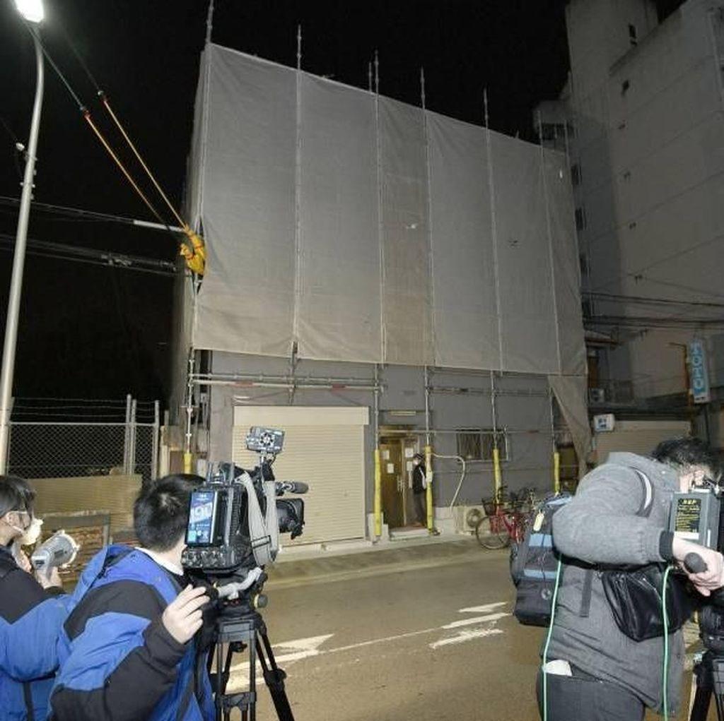 WN AS Ditahan Terkait Penemuan Kepala Wanita di Koper di Osaka