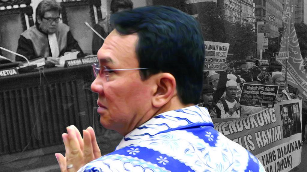 Doa Terbaik Ahok Jelang Sidang PK