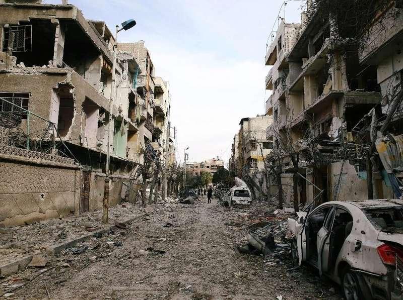 Pasar di Suriah Dihantam Roket, 35 Orang Tewas