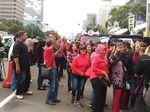 Giliran Massa Pendukung Ahok Datang ke Pengadilan