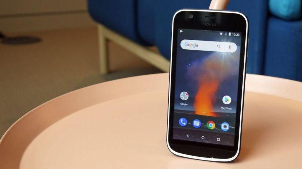 Penampakan Ponsel Murah Meriah Nokia 1