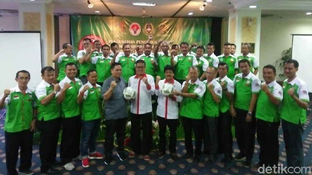 Kemenpora Kukuhkan Forum Pembinaan Sekolah Sepakbola Indonesia