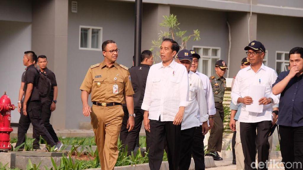 Soal Persiapan Wisma Atlet Kemayoran, Jokowi: Sudah 99,9%
