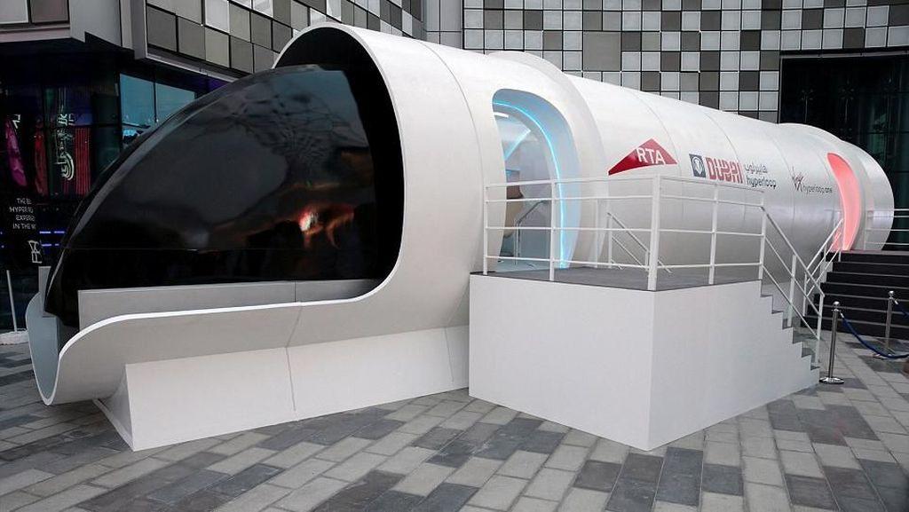 Interior Mewah Hyperloop One, Kereta Secepat Pesawat