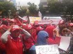 Sidang Selesai, Massa Pro dan Kontra Ahok Masih Orasi di PN Jakut