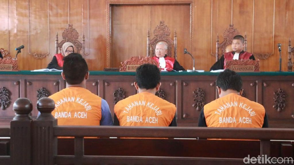 Pukul Wasit, 3 Pemain PSAP Sigli Dituntut 3 Bulan Penjara