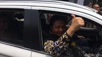 Menteri-menteri Jajal Mobil Listrik Keliling Kemenperin