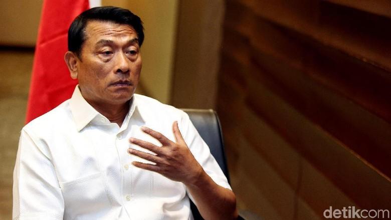 Jokowi Terima PSI cs di Istana Dikritik, Moeldoko: Semua Lagi Baper