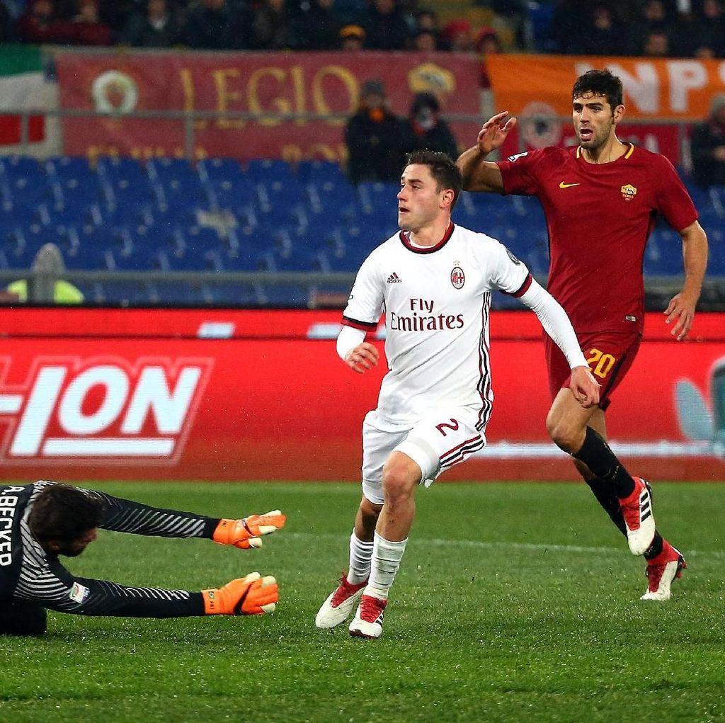 Milan Tumbangkan Roma 2-0