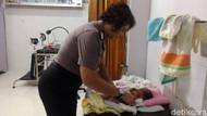 Bayi Merah Ini Ditemukan Telungkup di Kios Tambal Ban Kota Solo