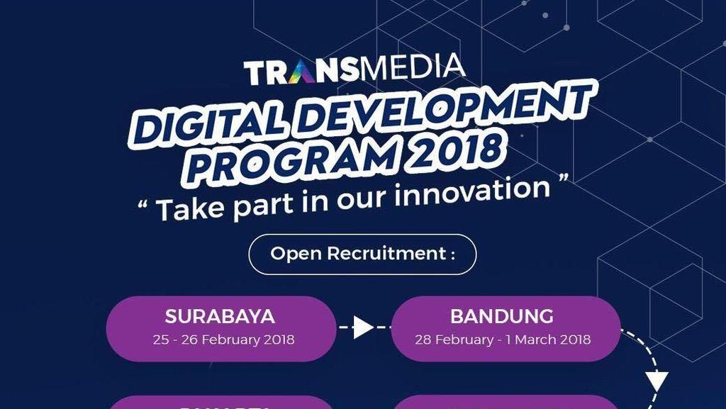Grup Media Digital Terbesar Indonesia Buka Lowongan, Buruan Daftar!