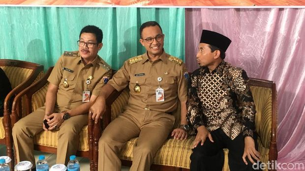 Hadiri Silaturahmi SD di Kembangan, Anies Didoakan Jadi Presiden