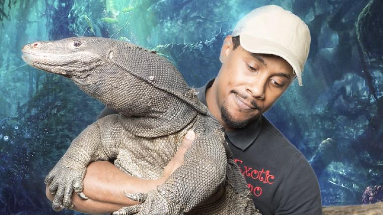 Javon Stacks dan Black Dragon milik Exotic Zoo (Exotic Zoo)