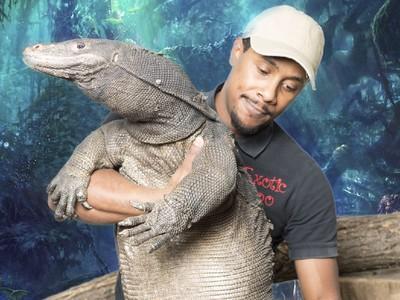 Exotic Zoo, Kebun Binatang Unik di Amerika yang Punya Black Dragon