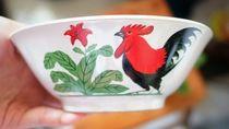 Lucu! Gambar Ayam Jago Khas Mangkuk Bakso Legendaris Kini Ada di 10 Barang Ini