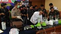 Polres Jakpus Musnahkan 4,5 Kg Sabu Hasil Razia Januari