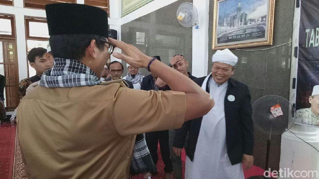 Tablig Akbar di Kp Seribu, Sandi Hormat Komando ke Al-Khaththath