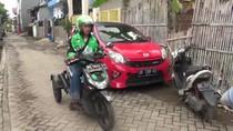 Belajar Semangat dari Driver Ojek Online yang Difabel di Makassar