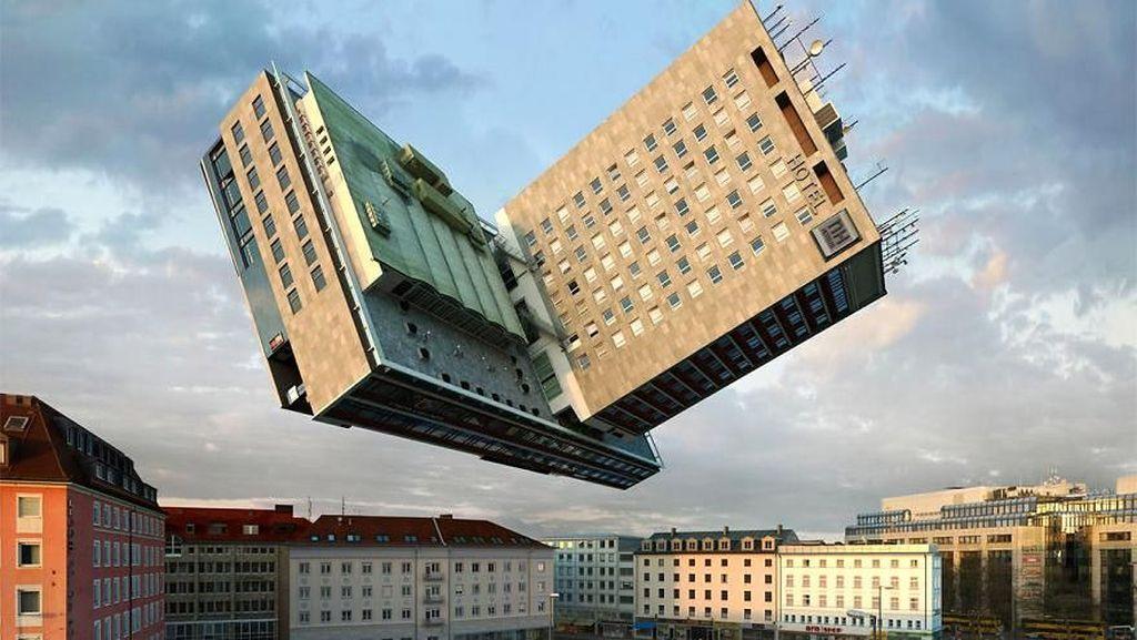 Foto: Bermain-main dengan Arsitektur