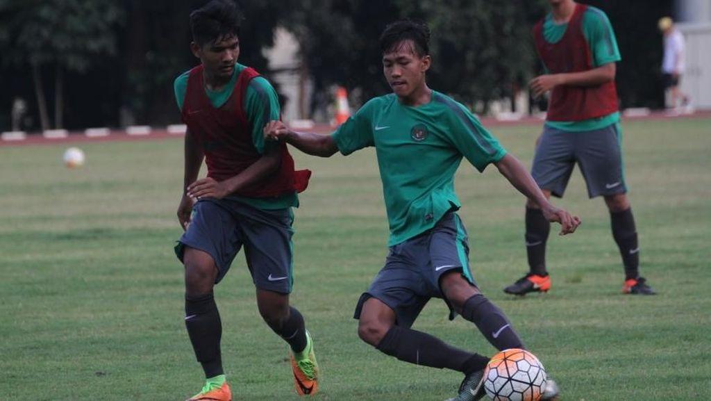 Timnas U-16 Asah Transisi Permainan