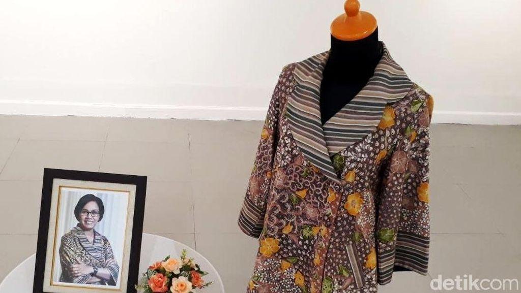 Penampakan Batik Sri Mulyani yang Laku Rp 10 Juta