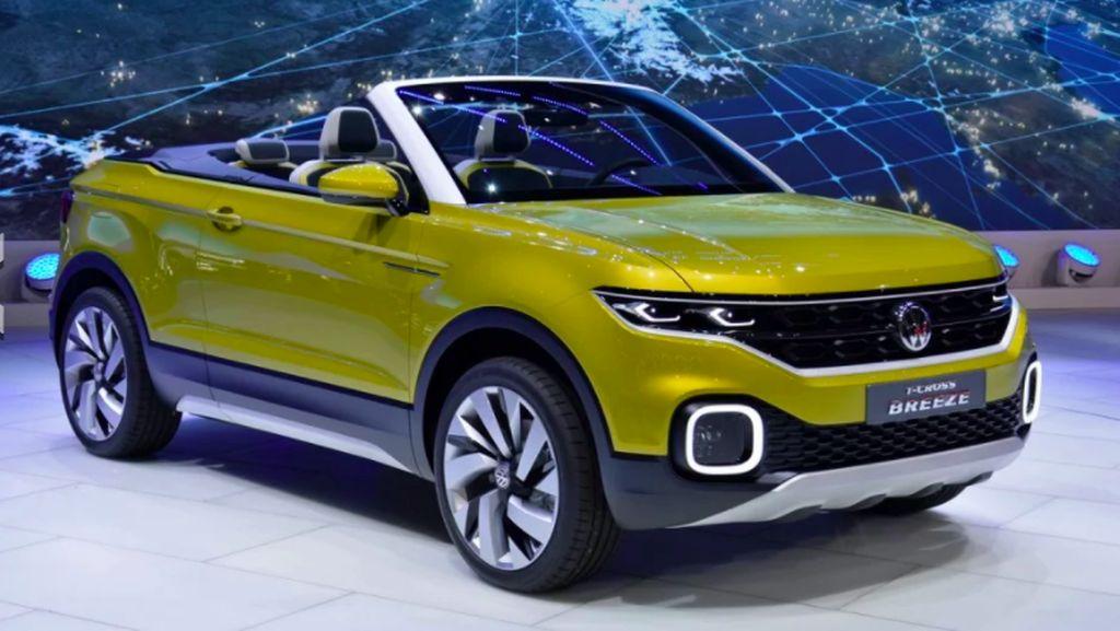 VW Siapkan Crossover Tanpa Atap