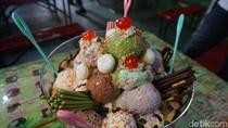 Ini Dia Es Krim Amazon yang Viral, Berukuran Jumbo dengan 28 Skop Es Krim
