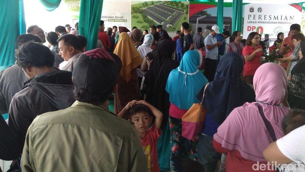 Usai Diluncurkan, Rumah DP Rp 0 di Cilincing Diserbu Warga
